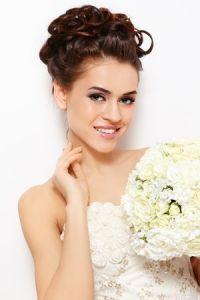 Bridal makeup by Maria