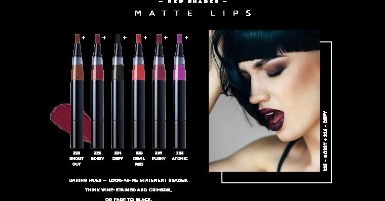 Hot 2015 fall trend: dark, matte lipstick