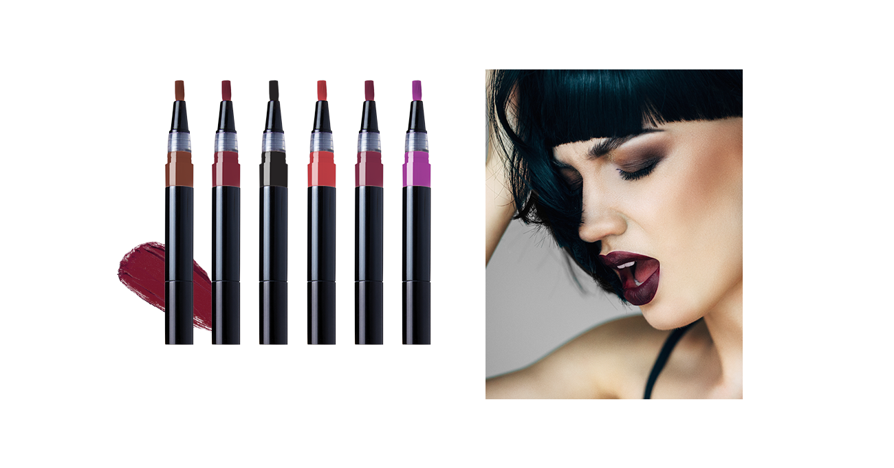 Hot 2015 fall trend: dark, matte lipstick