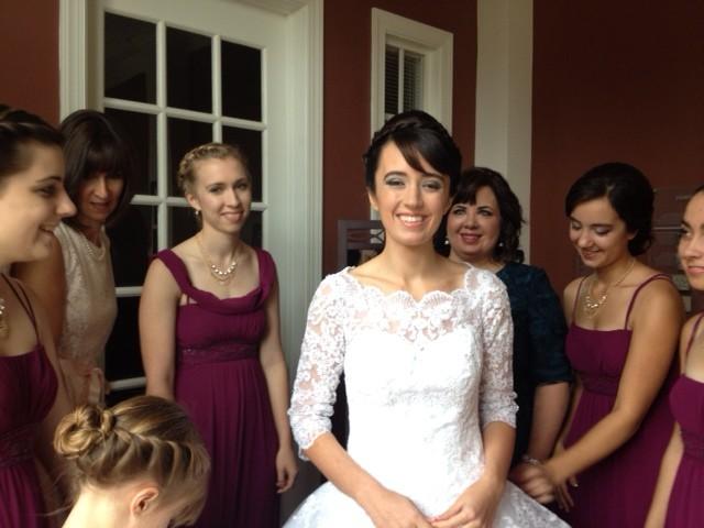 Romantic Wedding Makeup By Maria
