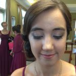 Natural airbrush bridesmaid makeup