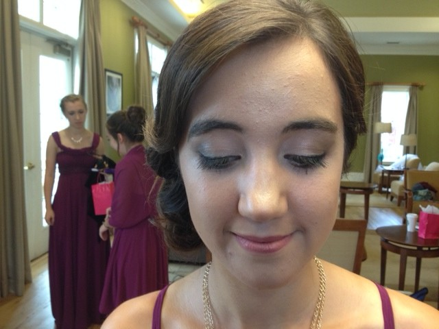 Natural Airbrush Bridesmaid Makeup By Maria