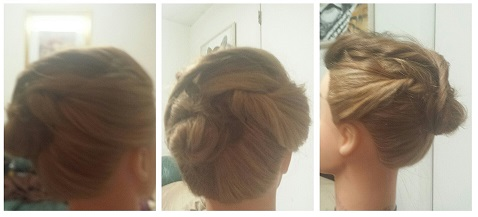 Wedding Hair Updo's By Corina