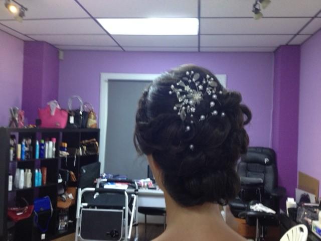 Wedding Hair Style By Judith