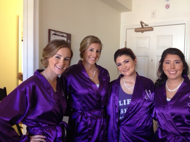 Bridesmaids Makeup By Maria & Andrea